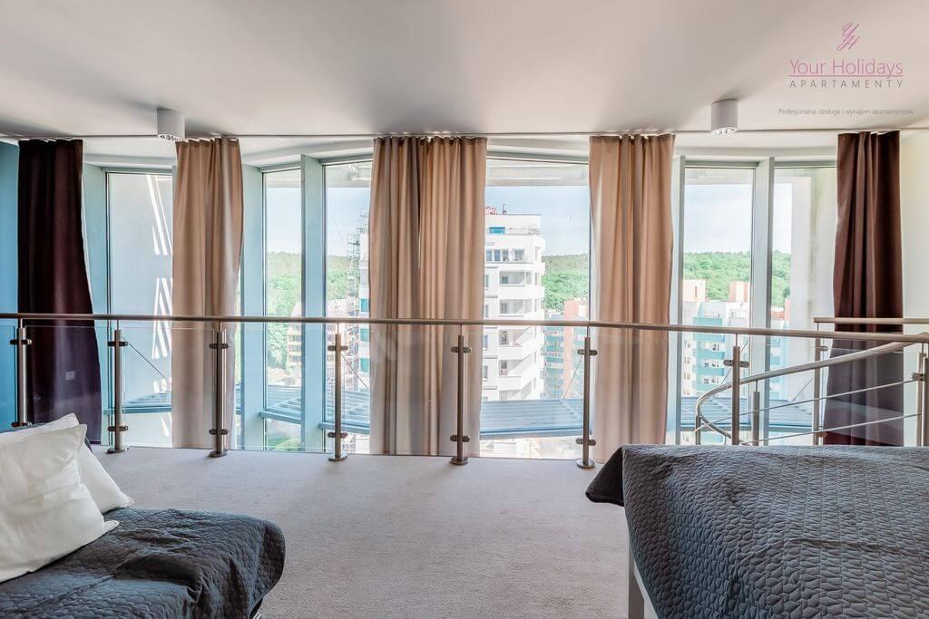 Międzyzdroje Apartament Promenada Gwiazd 28/1001 - pokój na piętrze w apartamencie blisko morza