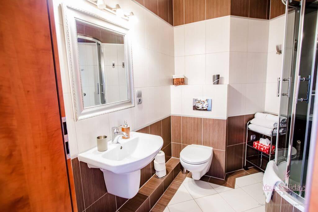 Międzyzdroje Apartament Red Attico - łazienka