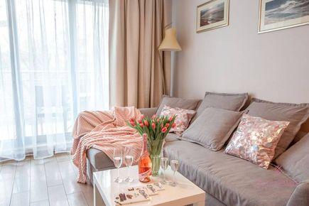 Apartament Międzyzdroje - Promenada Gwiazd 28-307 - salon